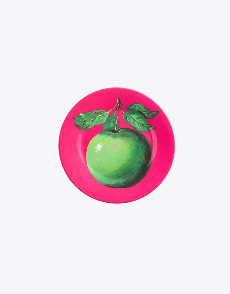 Assiette pomme magritte editions du centre pompidou - Tableau chapeau melon pomme verte ...